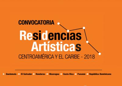 Residencias ARTÍSTICAS DE CENTROAMÉRICA Y EL CARIBE