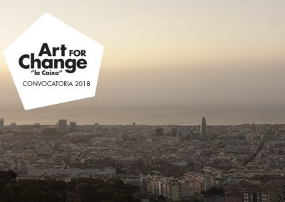 "Proyecto para Art for Change ""La Caixa"""