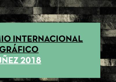 XIII PREMIO INTERNACIONAL DE ARTE GRÁFICO JESÚS NÚÑEZ 2018