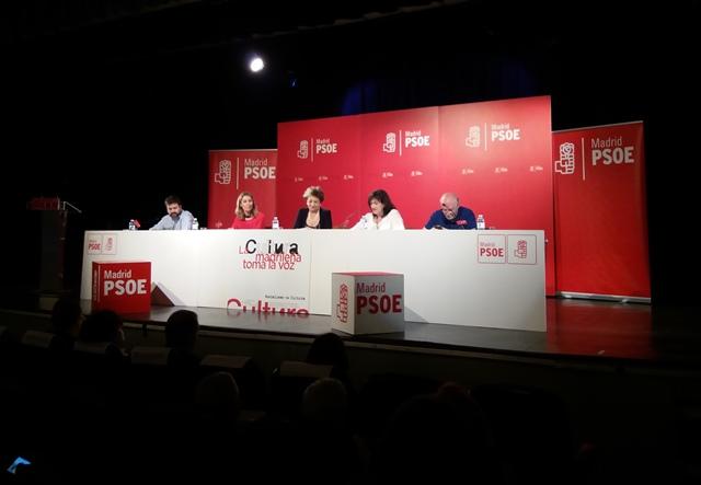 Intervención de AVAM en las Jornadas de Cultura del PSOE