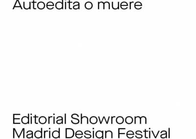 """Autoedita o muere + """"Open design área"""""""