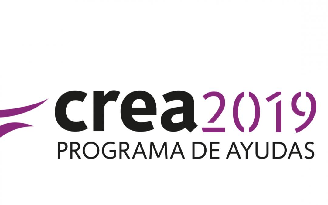 Crea2019: programa de ayudas
