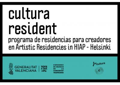 CULTURA RESIDENT. RESIDENCIAS EN HELSINKI