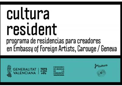 CULTURA RESIDENT. RESIDENCIAS EN GINEBRA