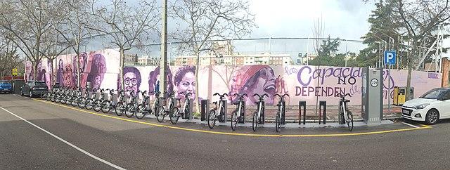 AVAM Mural Feminista Ciudad Lineal