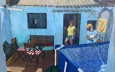 Sobrevolar la ciudad. 5 artistas residentes en Atelier Solar